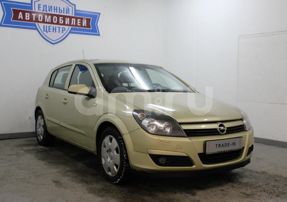 Opel Astra с пробегом, золотой , хорошее состояние, 2004 года выпуска, цена 254 500 руб. в автосалоне  ()