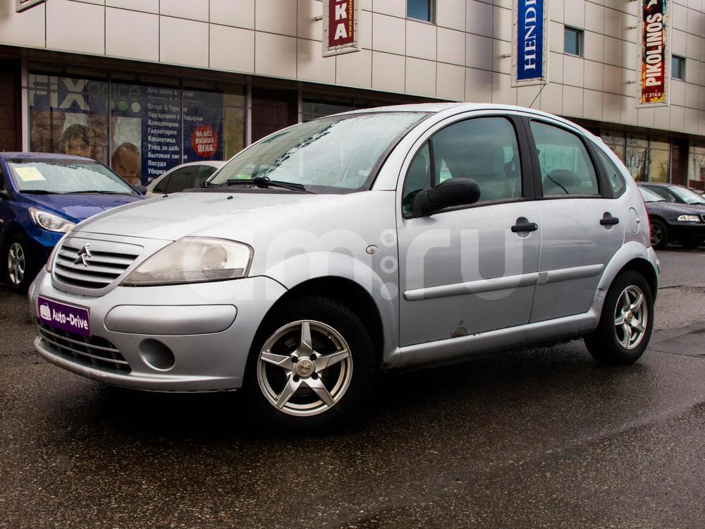 Citroen C3 с пробегом, серебряный , отличное состояние, 2004 года выпуска, цена 159 699 руб. в автосалоне  ()