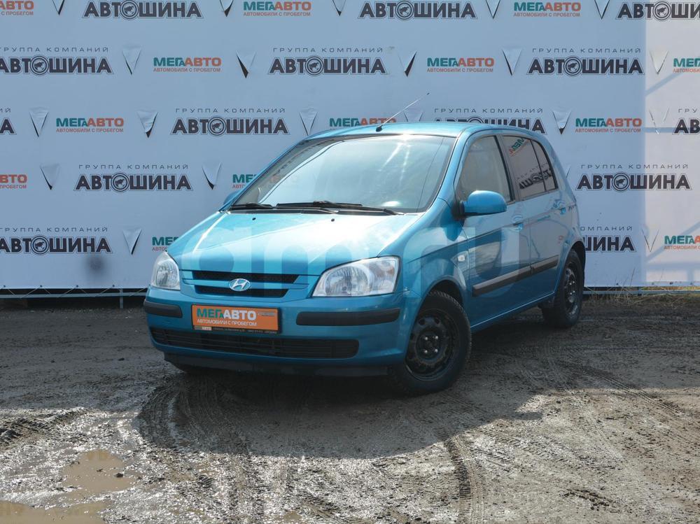 Hyundai Getz с пробегом, синий , отличное состояние, 2005 года выпуска, цена 284 000 руб. в автосалоне Мега Авто Калуга (Калуга, ул. Зерновая, д. 28)