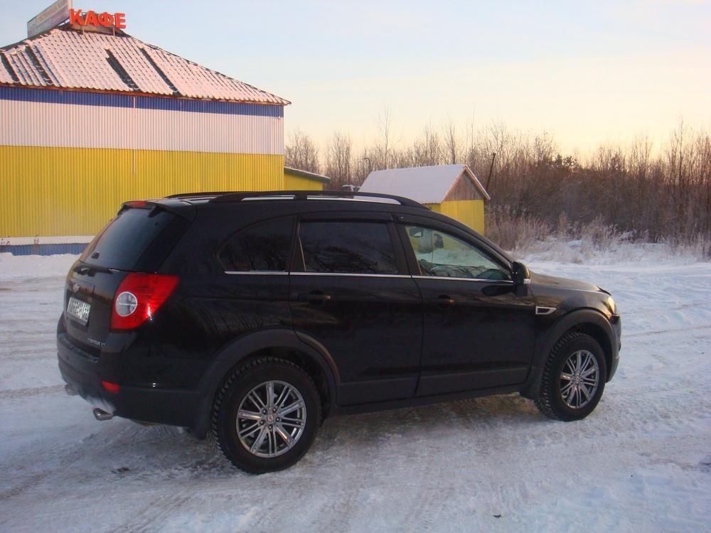Подержанный Chevrolet Captiva, отличное состояние, черный , 2013 года выпуска, цена 930 000 руб. в ао. Ханты-Мансийском Автономном округе - Югре