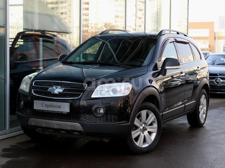 Chevrolet Captiva с пробегом, черный , отличное состояние, 2008 года выпуска, цена 557 000 руб. в автосалоне  ()