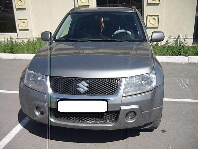 Подержанный Suzuki Grand Vitara, хорошее состояние, серый , 2007 года выпуска, цена 600 000 руб. в Челябинской области