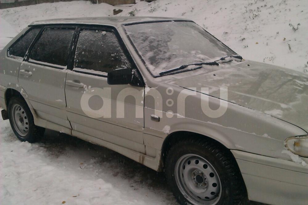 Подержанный ВАЗ (Lada) 2114, хорошее состояние, серебряный , 2004 года выпуска, цена 100 000 руб. в республике Татарстане