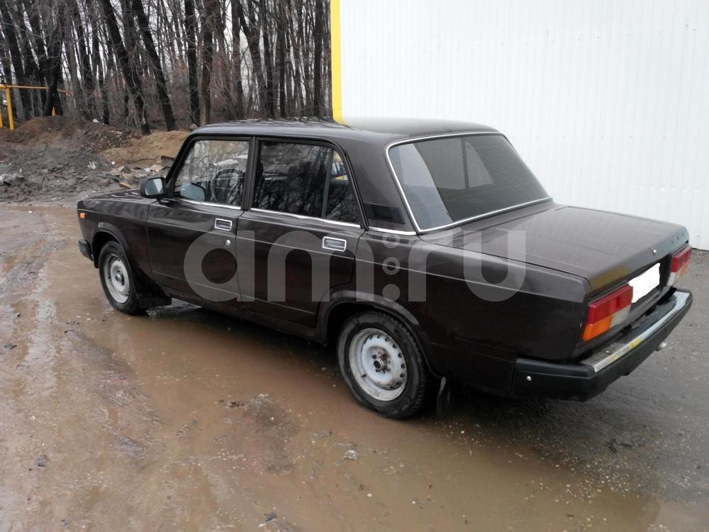 Подержанный ВАЗ (Lada) 2107, хорошее состояние, коричневый , 2008 года выпуска, цена 75 000 руб. в Самаре