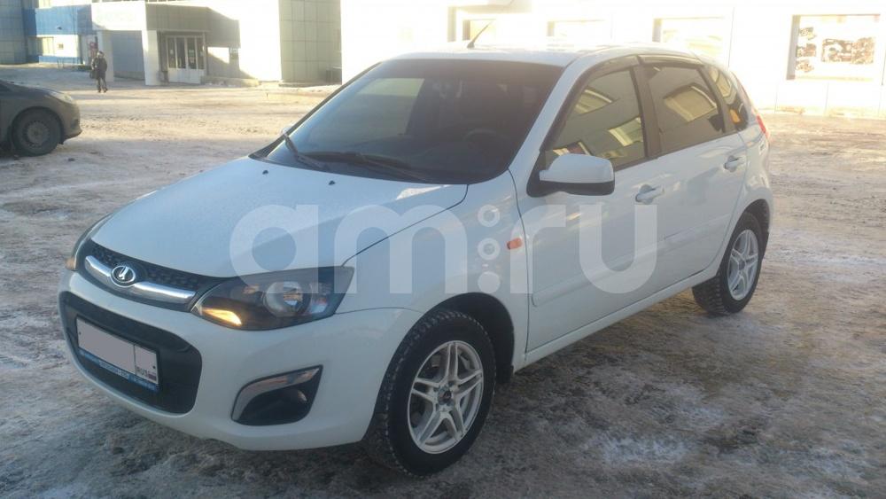 Подержанный ВАЗ (Lada) Kalina, отличное состояние, белый , 2013 года выпуска, цена 320 000 руб. в ао. Ханты-Мансийском Автономном округе - Югре