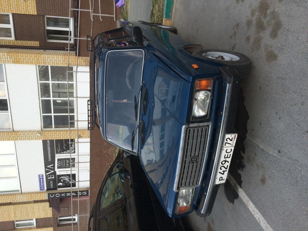 Подержанный ВАЗ (Lada) 2107, отличное состояние, синий , 2009 года выпуска, цена 95 000 руб. в Тюмени