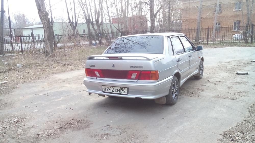 Подержанный ВАЗ (Lada) 2115, хорошее состояние, серый , 2008 года выпуска, цена 130 000 руб. в Екатеринбурге