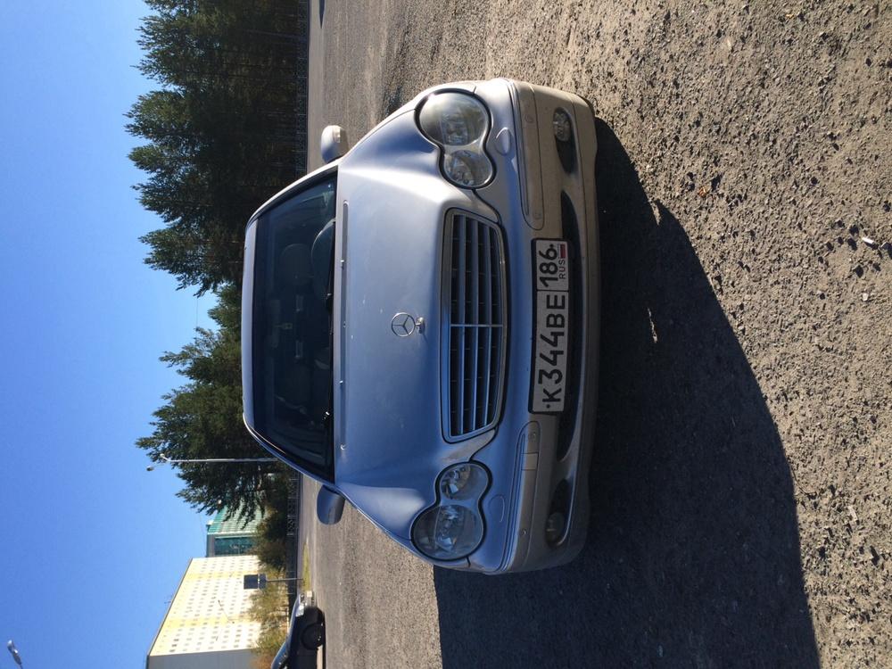 Подержанный Mercedes-Benz C-Класс, хорошее состояние, серебряный металлик, 2000 года выпуска, цена 390 000 руб. в ао. Ханты-Мансийском Автономном округе - Югре