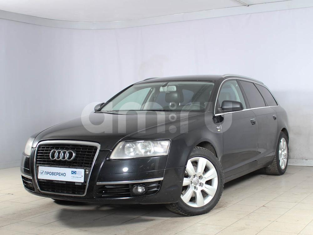 Audi A6 с пробегом, черный , отличное состояние, 2008 года выпуска, цена 505 000 руб. в автосалоне РОЛЬФ Лахта Blue Fish (Санкт-Петербург, ул. Савушкина, д. 103)