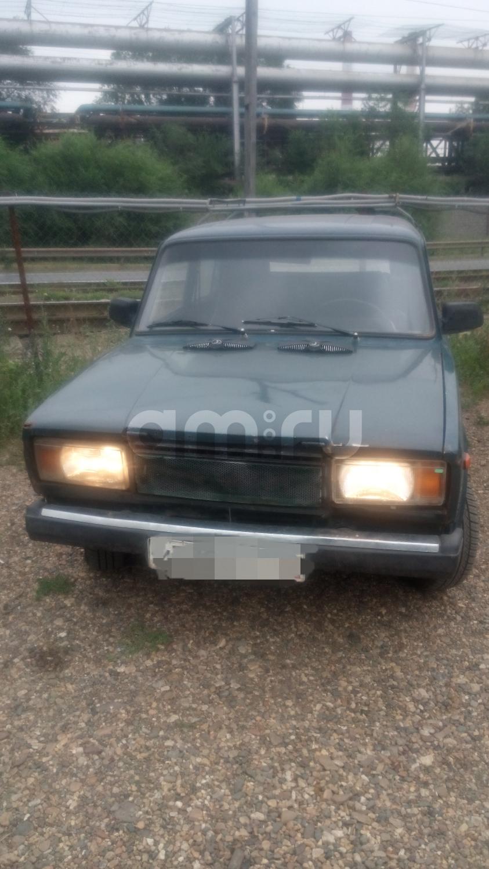 Подержанный ВАЗ (Lada) 2104, среднее состояние, зеленый акрил, 1996 года выпуска, цена 48 000 руб. в Челябинской области