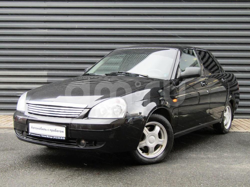 ВАЗ (Lada) Priora с пробегом, черный , отличное состояние, 2010 года выпуска, цена 218 300 руб. в автосалоне  ()