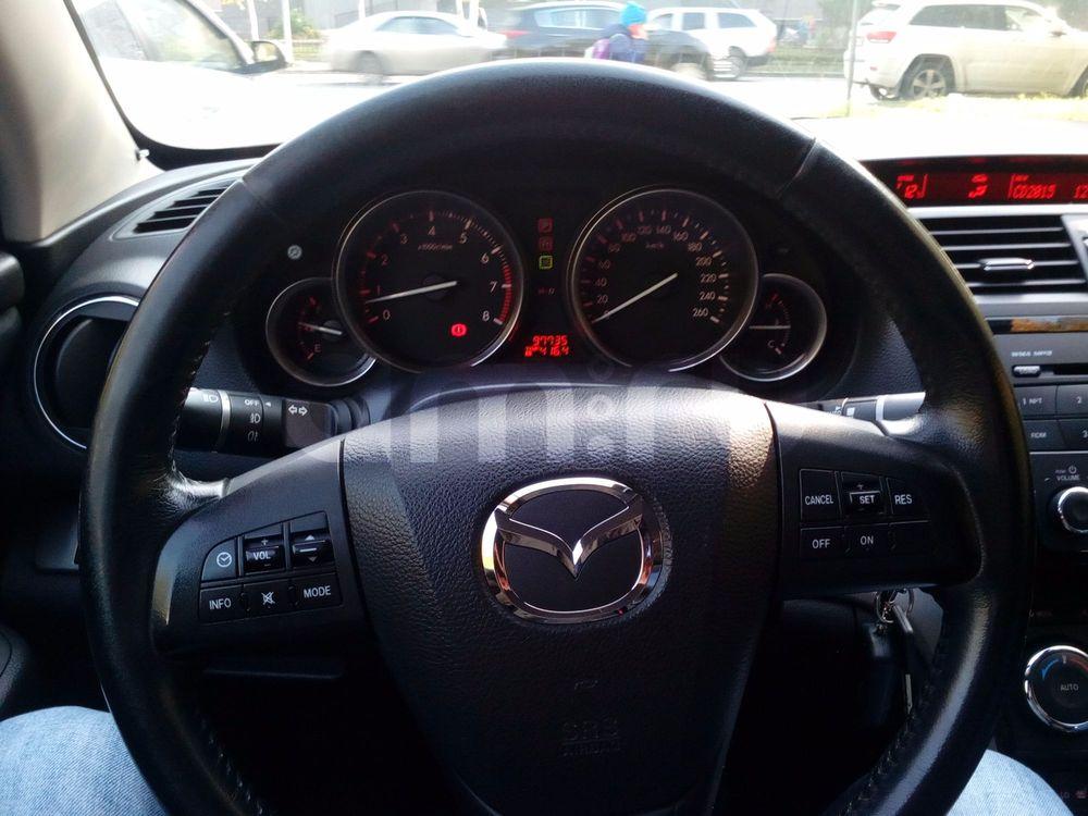 Подержанный Mazda 6, отличное состояние, серый , 2010 года выпуска, цена 680 000 руб. в ао. Ханты-Мансийском Автономном округе - Югре
