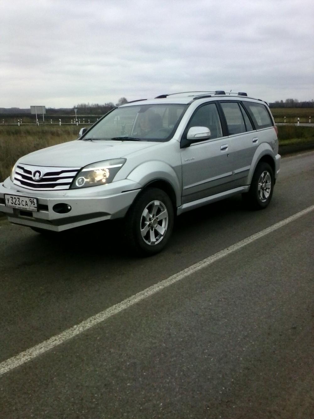 Подержанный Great Wall H3, хорошее состояние, серый , 2012 года выпуска, цена 580 000 руб. в Тюмени