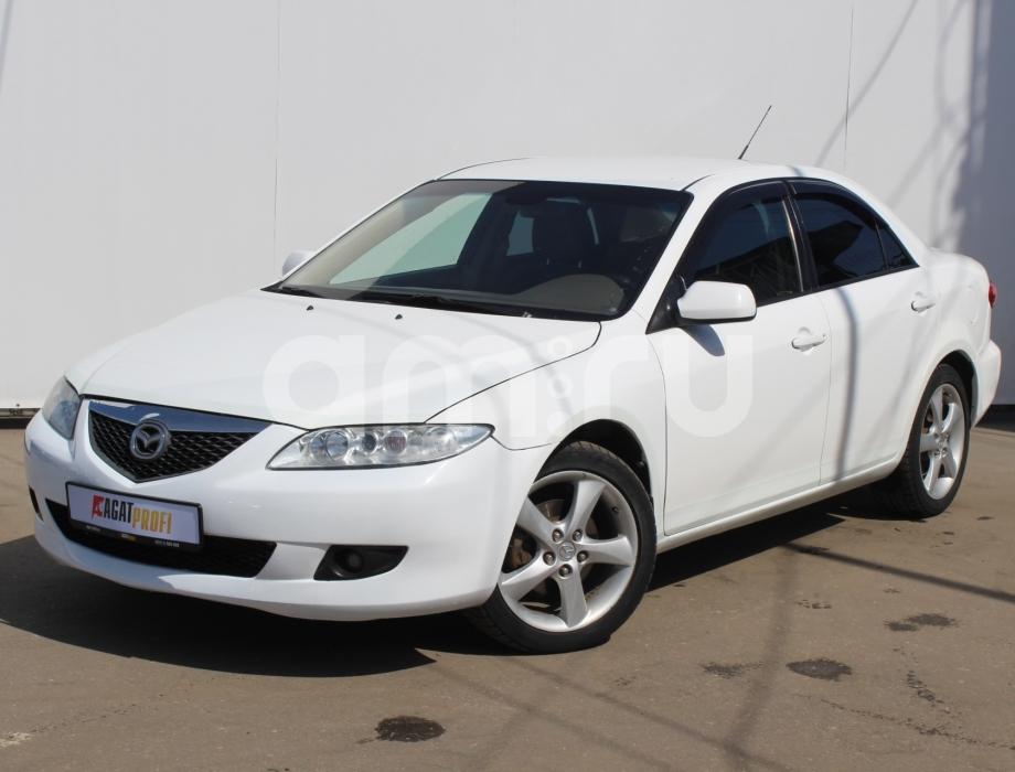 Mazda 6 с пробегом, белый , отличное состояние, 2003 года выпуска, цена 270 000 руб. в автосалоне  ()