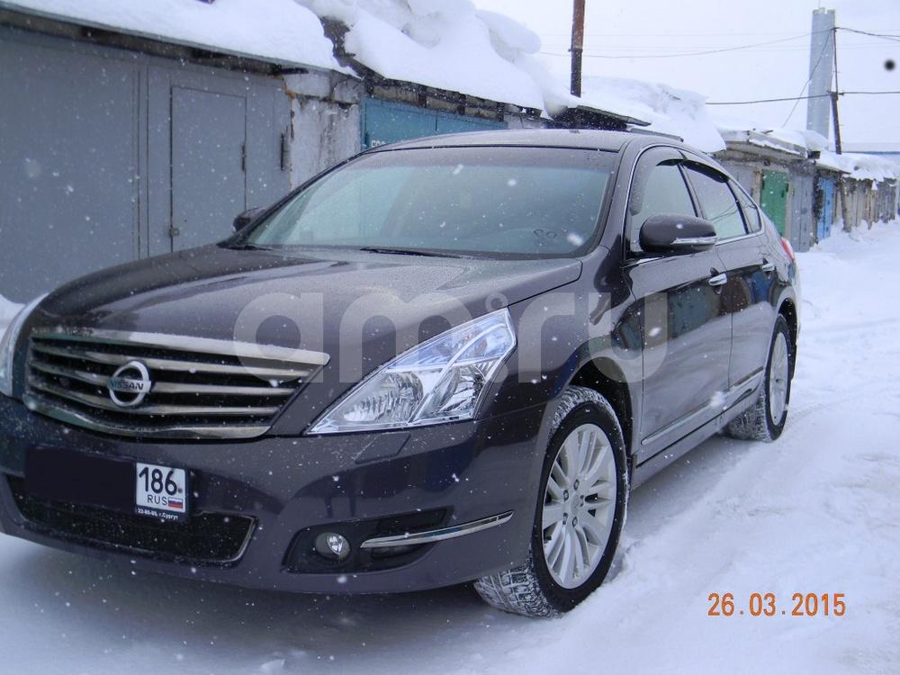 Подержанный Nissan Teana, отличное состояние, фиолетовый , 2013 года выпуска, цена 1 025 000 руб. в ао. Ханты-Мансийском Автономном округе - Югре
