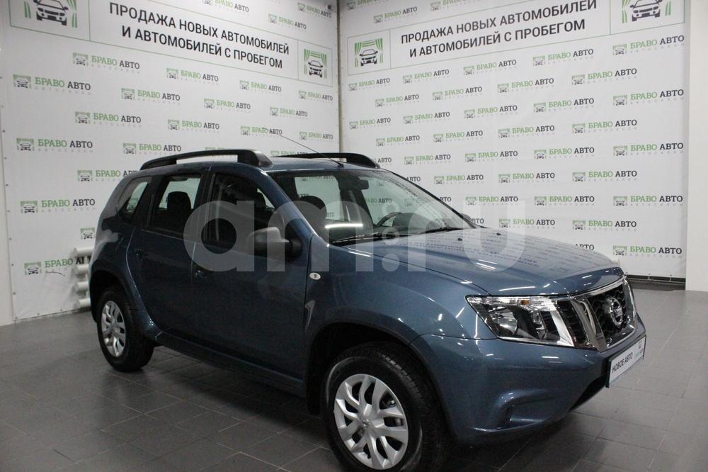 Nissan Terrano с пробегом, синий , отличное состояние, 2017 года выпуска, цена 869 000 руб. в автосалоне Браво Авто (Уфа, проезд Базисный, д. 2Д)