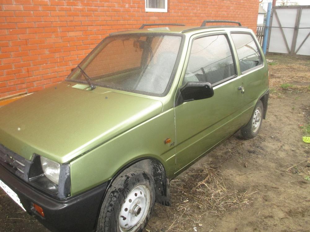 Подержанный ВАЗ (Lada) 1111 Ока, хорошее состояние, зеленый , 2006 года выпуска, цена 85 000 руб. в Самаре