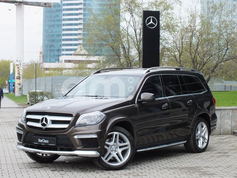 Mercedes-Benz GL-Класс с пробегом, коричневый , отличное состояние, 2013 года выпуска, цена 3 290 000 руб. в автосалоне Штерн (Екатеринбург, ул. Челюскинцев, д. 10)