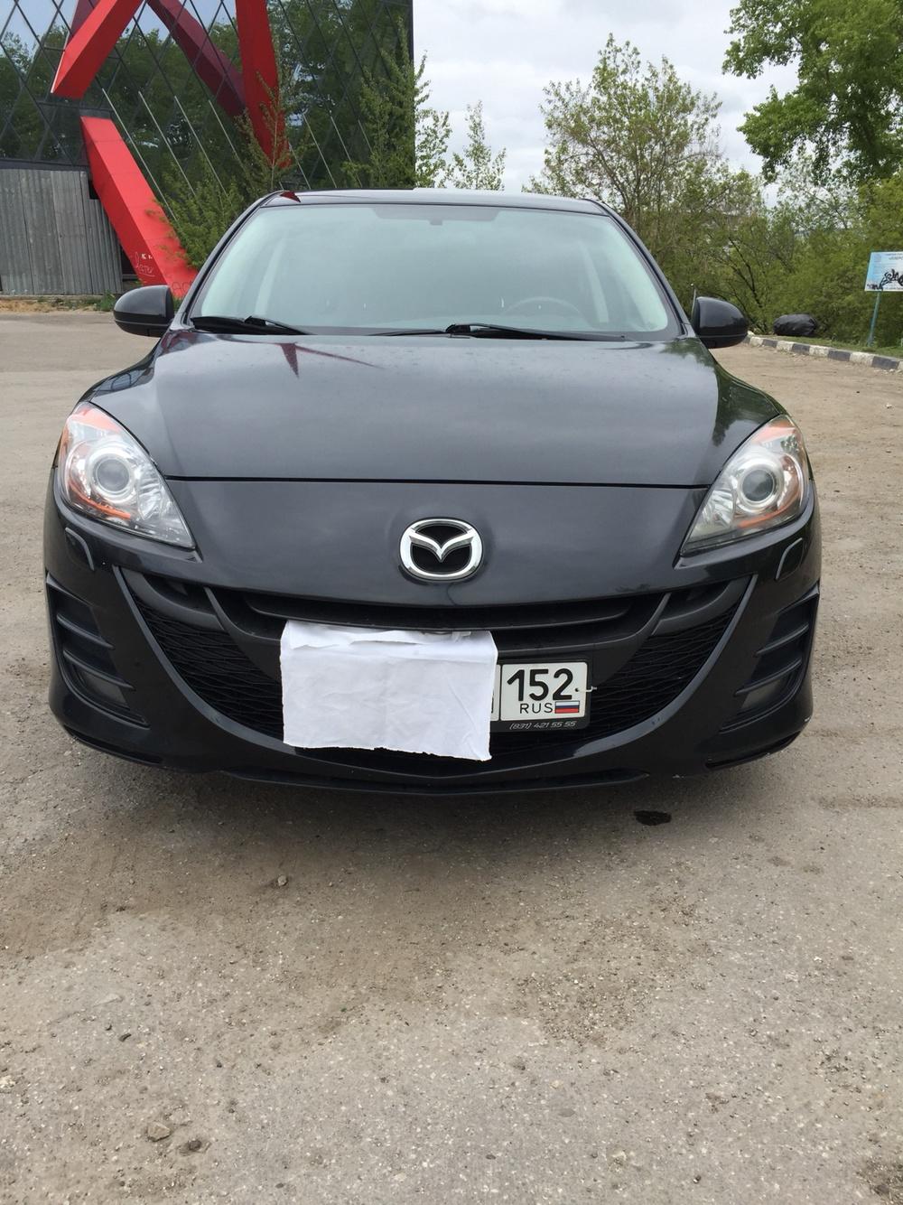 Подержанный Mazda 3, отличное состояние, черный , 2011 года выпуска, цена 557 000 руб. в Нижнем Новгороде