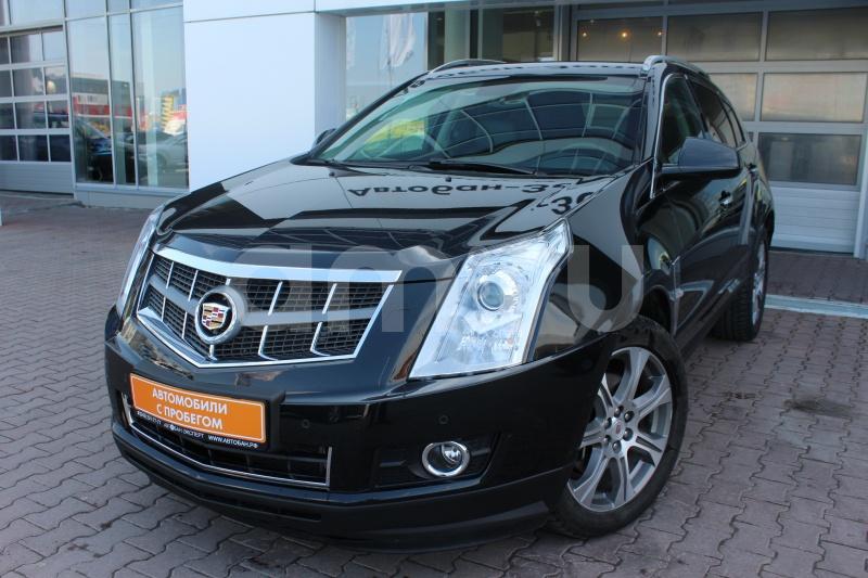 Cadillac SRX с пробегом, черный , отличное состояние, 2012 года выпуска, цена 1 299 000 руб. в автосалоне Автобан-Запад (Екатеринбург, ул. Металлургов, д. 67)