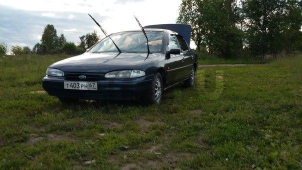 Подержанный Ford Mondeo, хорошее состояние, синий акрил, 1995 года выпуска, цена 150 000 руб. в Смоленской области
