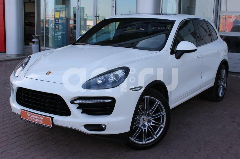 Porsche Cayenne с пробегом, белый , отличное состояние, 2010 года выпуска, цена 1 959 000 руб. в автосалоне  ()