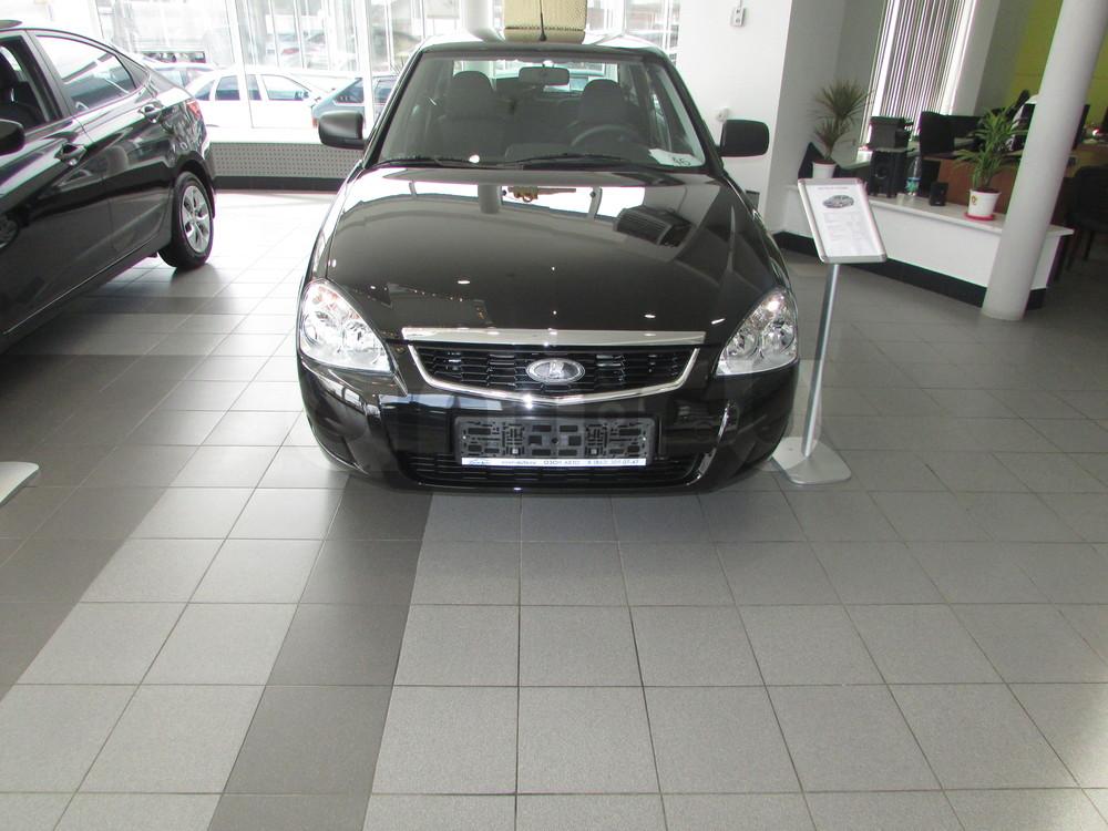 ВАЗ (Lada) Priora с пробегом, черный , отличное состояние, 2016 года выпуска, цена 438 000 руб. в автосалоне  ()