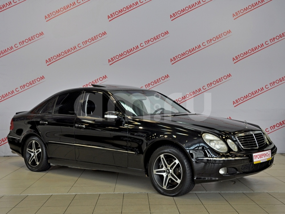 Mercedes-Benz E-Класс с пробегом, черный акрил, отличное состояние, 2006 года выпуска, цена 545 000 руб. в автосалоне NORTH-AUTO (Санкт-Петербург, пр-кт Маршала Блюхера, д. 54, корп. 1)
