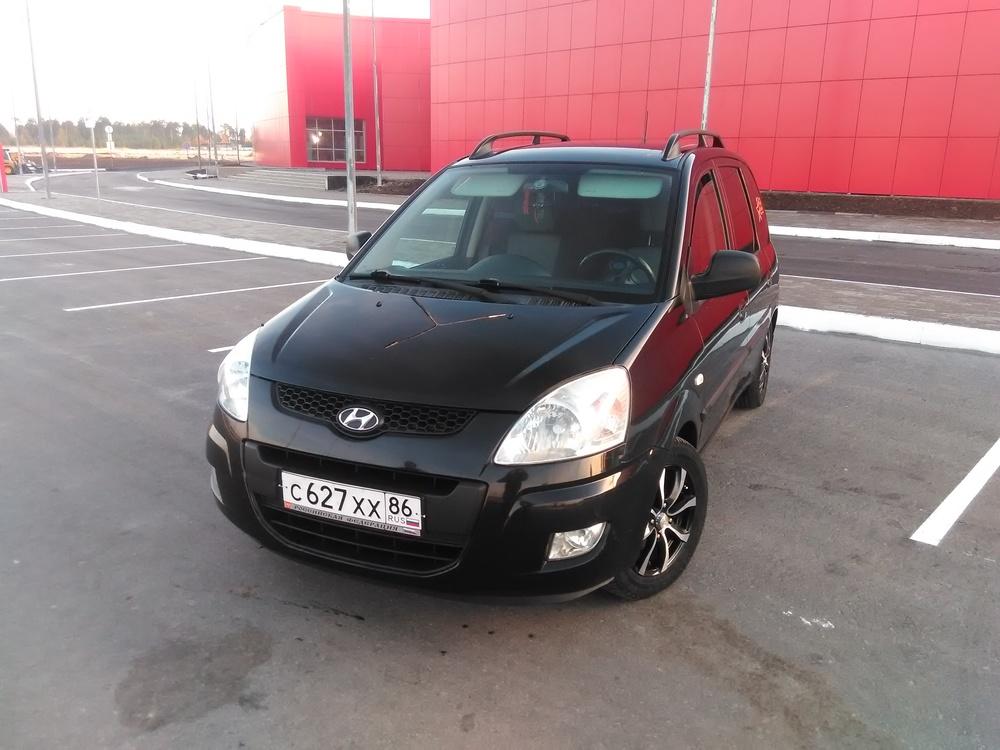Подержанный Hyundai Matrix, отличное состояние, черный , 2008 года выпуска, цена 370 000 руб. в ао. Ханты-Мансийском Автономном округе - Югре
