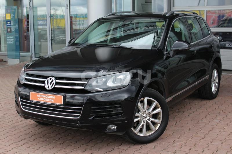 Volkswagen Touareg с пробегом, черный , отличное состояние, 2012 года выпуска, цена 1 349 000 руб. в автосалоне  ()