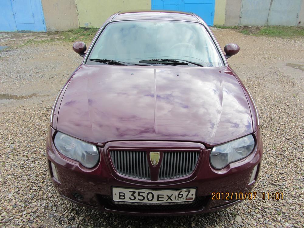 Подержанный Rover 75, хорошее состояние, бордовый металлик, 2005 года выпуска, цена 300 000 руб. в Смоленской области