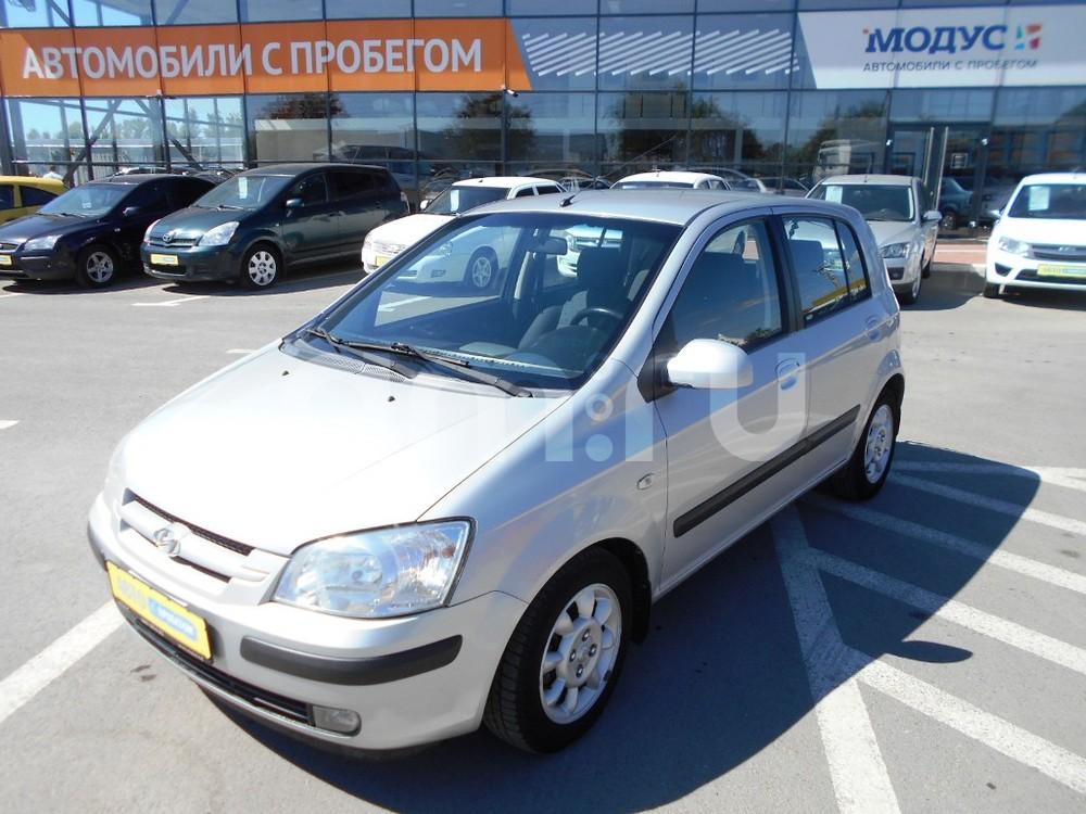 Hyundai Getz с пробегом, серебряный , отличное состояние, 2005 года выпуска, цена 240 000 руб. в автосалоне  ()