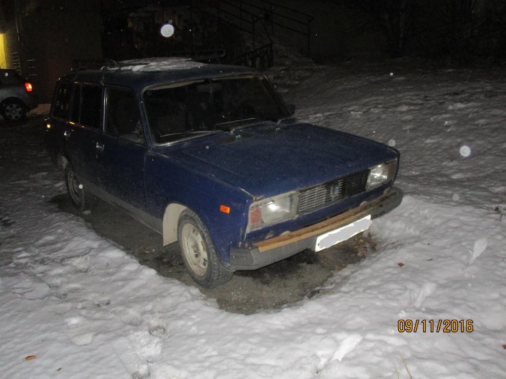 Подержанный ВАЗ (Lada) 2104, среднее состояние, синий , 1999 года выпуска, цена 35 000 руб. в Челябинской области