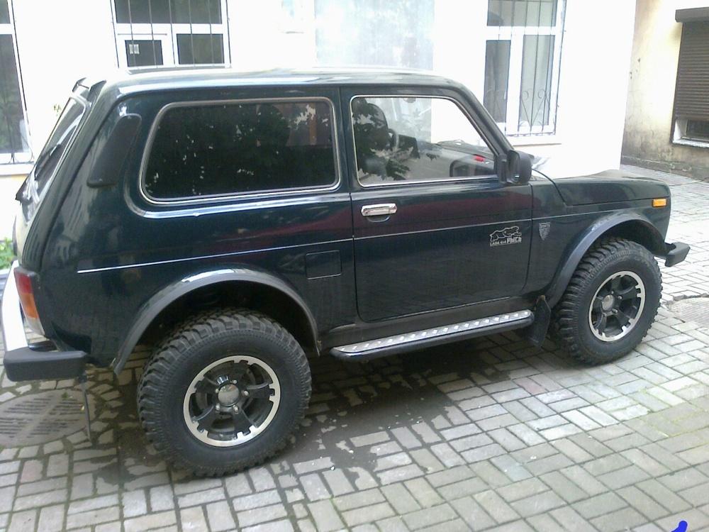 Подержанный ВАЗ (Lada) 4x4, отличное состояние, бирюзовый металлик, 2013 года выпуска, цена 500 000 руб. в Санкт-Петербурге