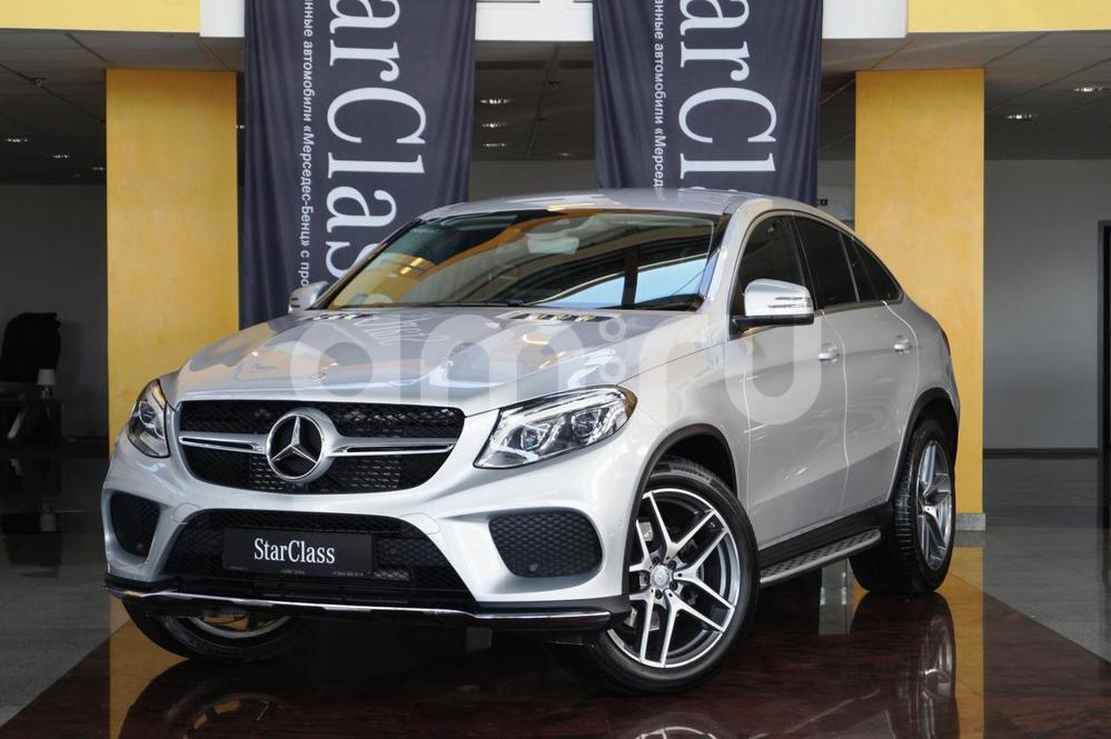 Mercedes-Benz GLE-Класс с пробегом, серебряный , отличное состояние, 2016 года выпуска, цена 4 880 000 руб. в автосалоне  ()