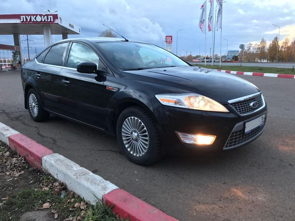 Подержанный Ford Mondeo, хорошее состояние, черный металлик, 2007 года выпуска, цена 380 000 руб. в республике Татарстане