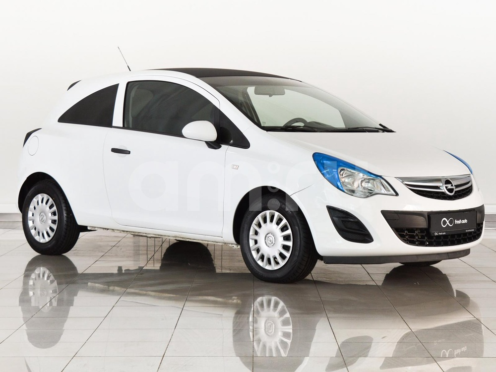 Opel Corsa с пробегом, белый , отличное состояние, 2013 года выпуска, цена 430 000 руб. в автосалоне FRESH Нижний Новгород (Нижний Новгород, ул. Коминтерна, д. 31Ж)