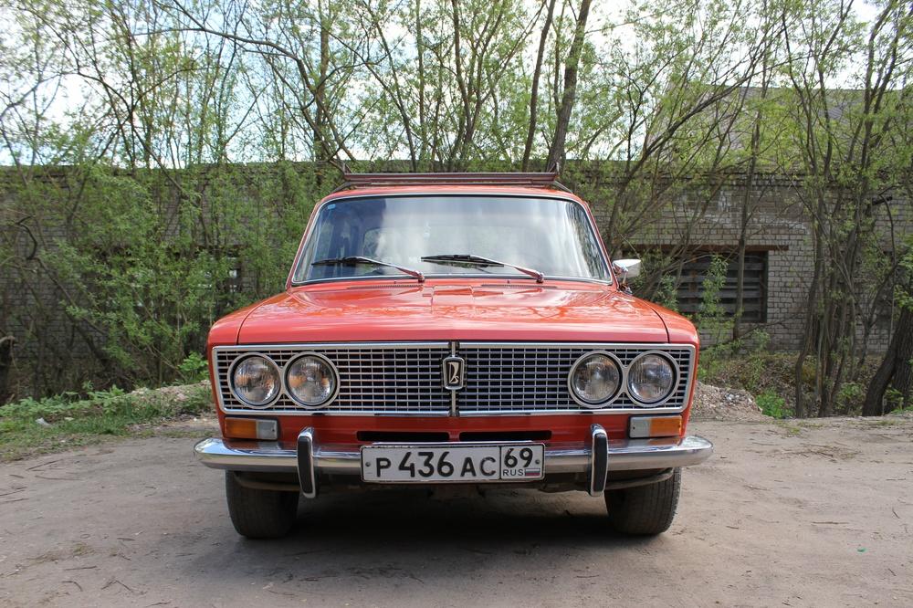 Подержанный ВАЗ (Lada) 2103, хорошее состояние, красный , 1976 года выпуска, цена 99 000 руб. в Тверской области