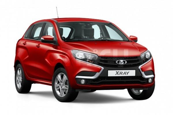 Новый авто ВАЗ (Lada) XRAY, красный , 2016 года выпуска, цена 762 000 руб. в автосалоне  ()