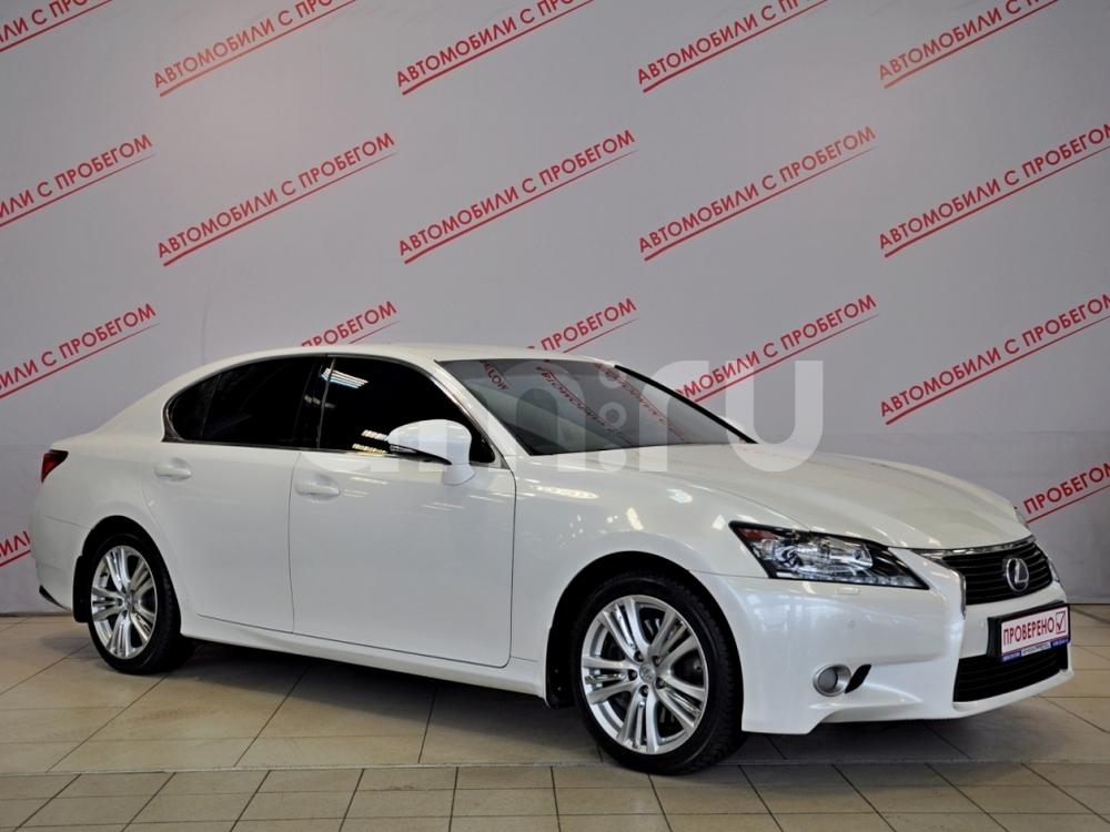 Lexus GS с пробегом, белый металлик, отличное состояние, 2012 года выпуска, цена 1 499 000 руб. в автосалоне  ()