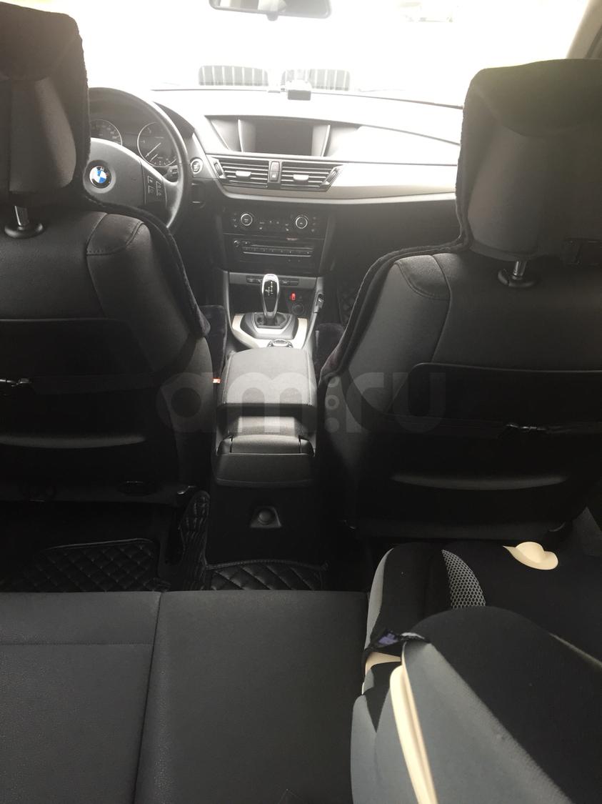 Подержанный BMW X1, отличное состояние, черный , 2014 года выпуска, цена 1 500 000 руб. в республике Татарстане