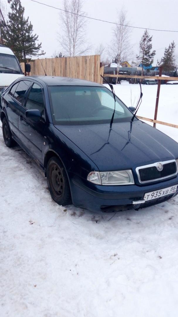 Подержанный Skoda Octavia, хорошее состояние, синий , 1999 года выпуска, цена 180 000 руб. в ао. Ханты-Мансийском Автономном округе - Югре