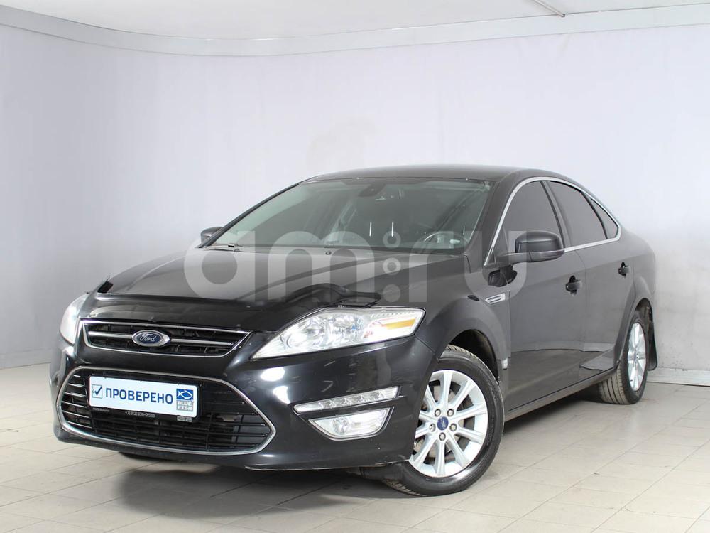 Ford Mondeo с пробегом, черный , отличное состояние, 2013 года выпуска, цена 650 000 руб. в автосалоне РОЛЬФ Лахта Blue Fish (Санкт-Петербург, ул. Савушкина, д. 103)