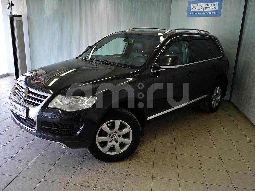 Volkswagen Touareg с пробегом, черный , отличное состояние, 2008 года выпуска, цена 799 000 руб. в автосалоне РОЛЬФ Витебский Blue Fish (Санкт-Петербург, пр-кт Витебский, д. 17, корп. 6)