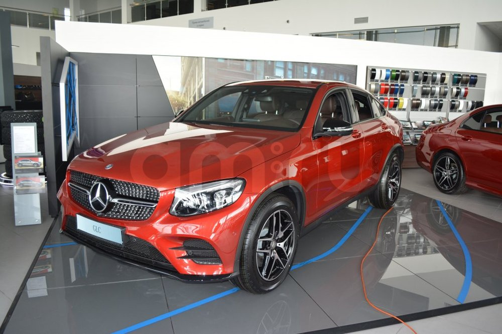 Новый авто Mercedes-Benz GLC-Класс, красный металлик, 2016 года выпуска, цена 4 300 000 руб. в автосалоне МБ-Орловка (Набережные Челны, тракт Мензелинский, д. 24)