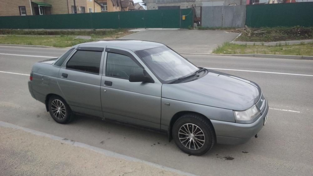Подержанный ВАЗ (Lada) 2110, хорошее состояние, мокрый асфальт металлик, 2006 года выпуска, цена 135 000 руб. в ао. Ханты-Мансийском Автономном округе - Югре