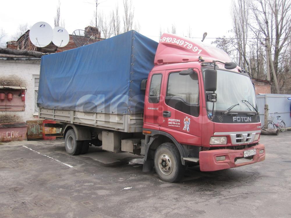 Подержанный Foton Aumark BJ 1049, среднее состояние, красный металлик, 2007 года выпуска, цена 430 000 руб. в Воронежской области