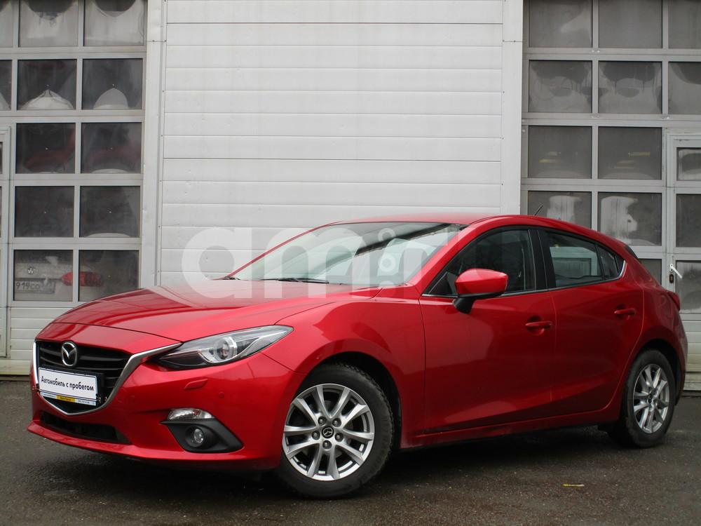 Mazda 3 с пробегом, красный , отличное состояние, 2013 года выпуска, цена 719 000 руб. в автосалоне  ()