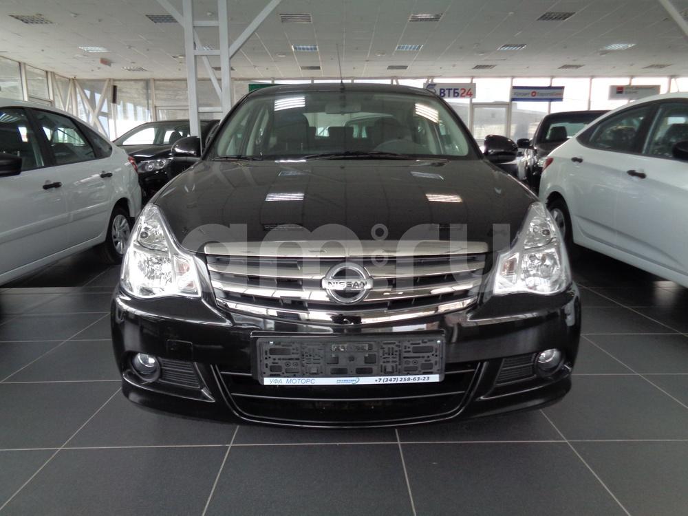 Nissan Almera с пробегом, черный металлик, отличное состояние, 2016 года выпуска, цена 601 000 руб. в автосалоне УФА МОТОРС (Уфа, ул. Сарапульская, д. 35)