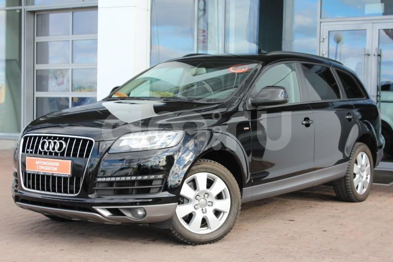Audi Q7 с пробегом, черный , отличное состояние, 2013 года выпуска, цена 1 850 000 руб. в автосалоне Автобан-Запад (Екатеринбург, ул. Металлургов, д. 67)